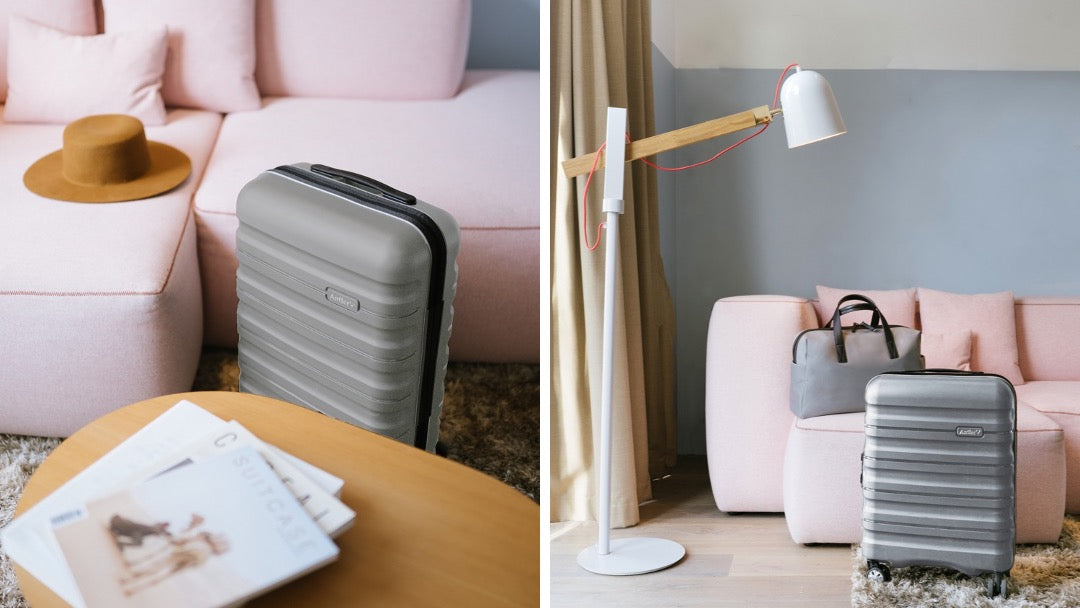 Lincoln suitcase in grey