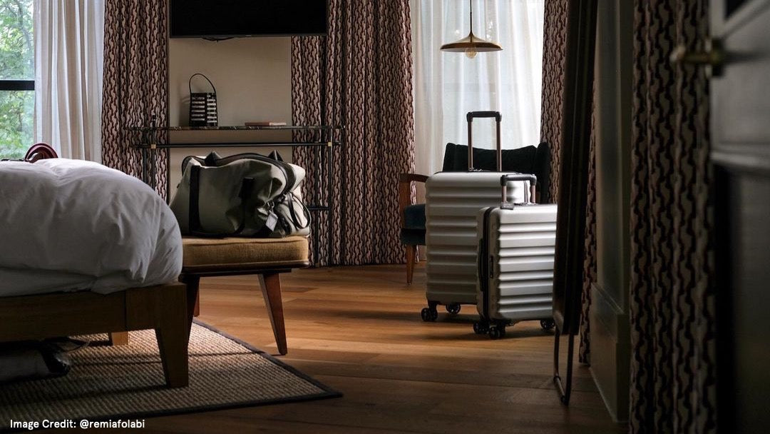 Clifton luggage by Remi Afolabi