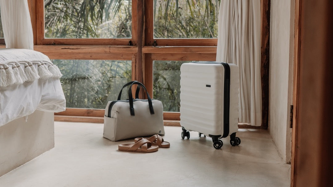 Chelsea overnight bag with Clifton cabin suitcase by Antler