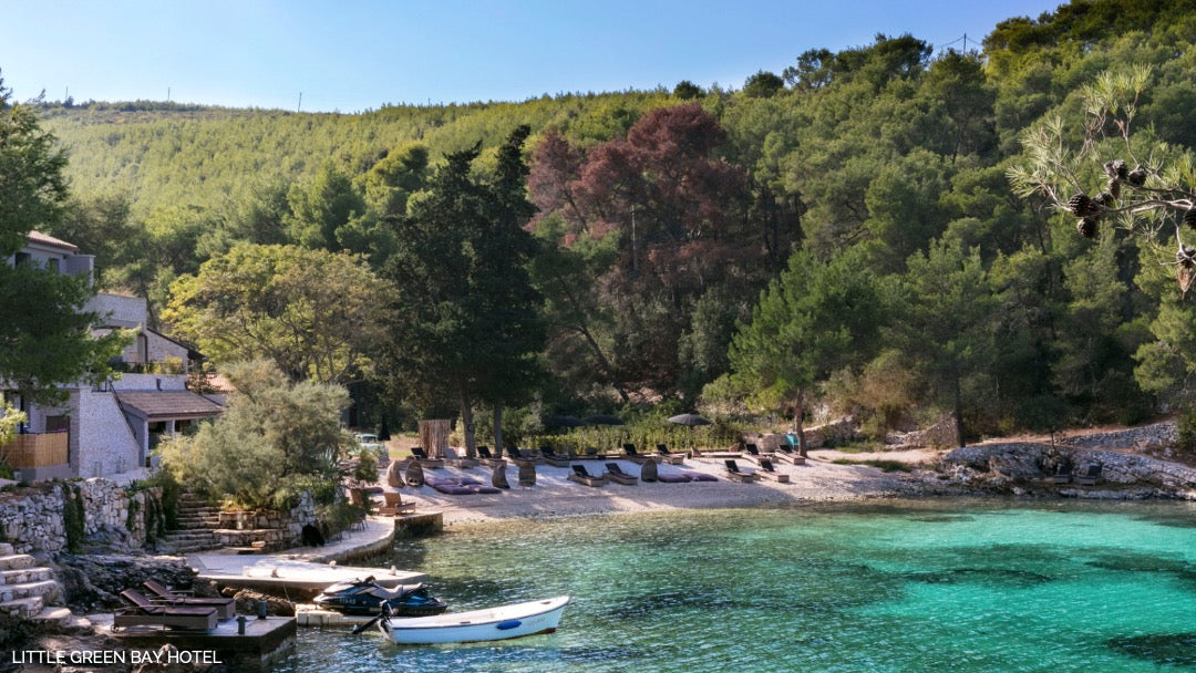 Little Green Bay Hotel, Hvar, Croatia