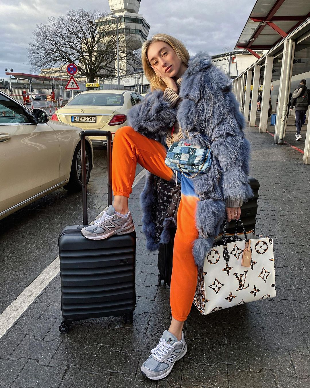 Sonia Lyson picks the Antler Clifton suitcase set in navy