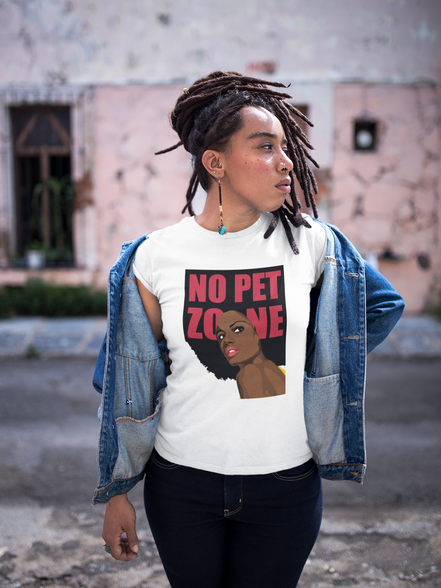 No Pet Zone T-Shirt