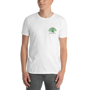 Emerald Life Front and Back Logo Unisex T-Shirt