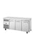 1/1 GN COUNTER FREEZER, 3 SOLID DOORS - TCF1/3-CL-SS-DL-DR-DR