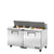 PREP TABLE SANDWICH/SALAD, 2 SOLID DOORS - TSSU-60-16-HC