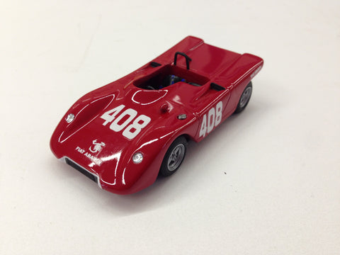 Fiat Abarth 1000 Cuneo 1970 Die Cast Model