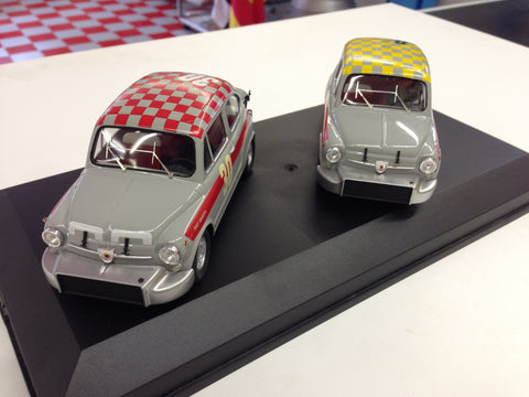 Fiat Abarth 850 and 1000 Die Cast Models