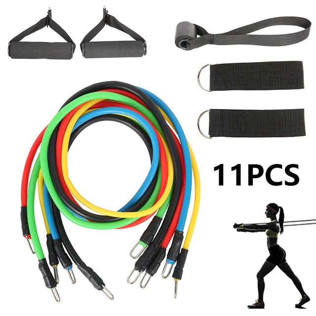 Resistance bands 12 Piece Set