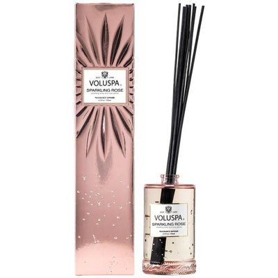 Sparkling Rose  Reed Diffuser - Sass Beauty Lashes & Skincare