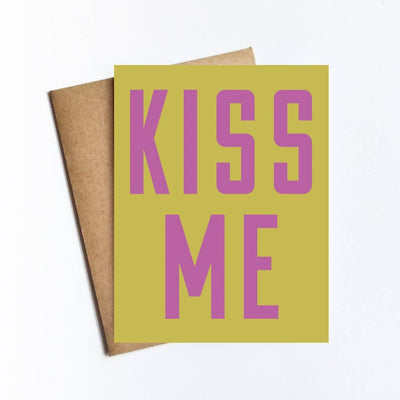 Kiss Me Card - Sass Beauty Lashes & Skincare