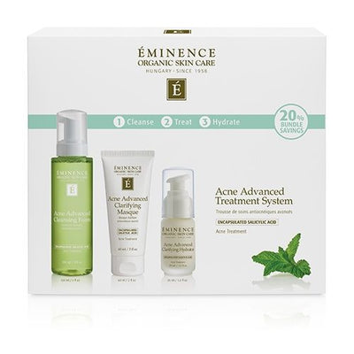 Acne Advanced 3-Step Treatment System - Sass Beauty Lashes & Skincare