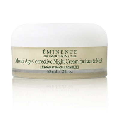 Monoi Age Corrective Night Cream for Face & Neck - Sass Beauty Lashes & Skincare