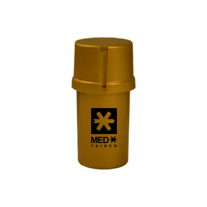 Solid Gold Medtainer - The Grown Depot