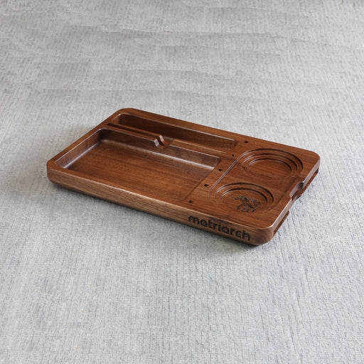 Matriarch Jay Mill | Black Walnut Wood Rolling Tray - The Grown Depot