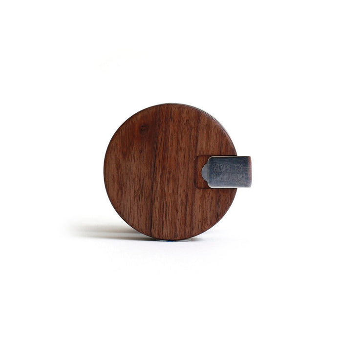 Marley Natural Wood Glass Body Grinder - The Grown Depot