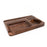 Matriarch B. Father | Premium Black Walnut Rolling Tray - The Grown Depot