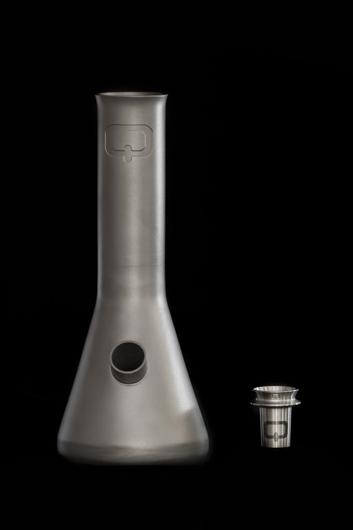 Quiver Summit Titanium Bong With Merapi Flower Bowl - The Grown Depot