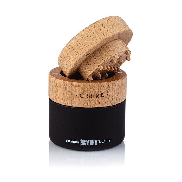 RYOT Wood GR8TR with Jar Body - The Grown Depot