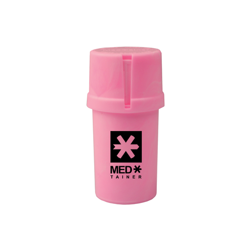 Solid Pink Medtainer - The Grown Depot