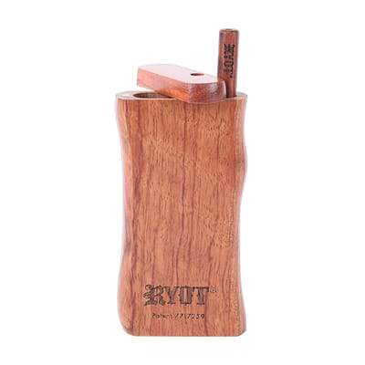 "RYOT Large (3"") Wooden Taster Box with Matching Taster - The Grown Depot"