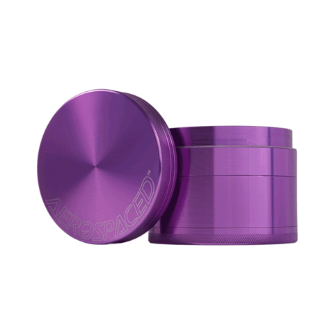 Aerospaced Anodized 2.5 Inch Aluminum Grinders - The Grown Depot