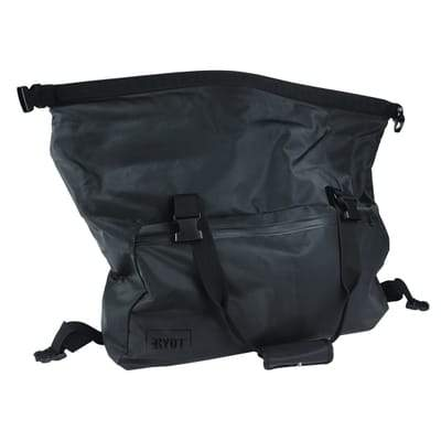 Black Cannabis Travel Bag