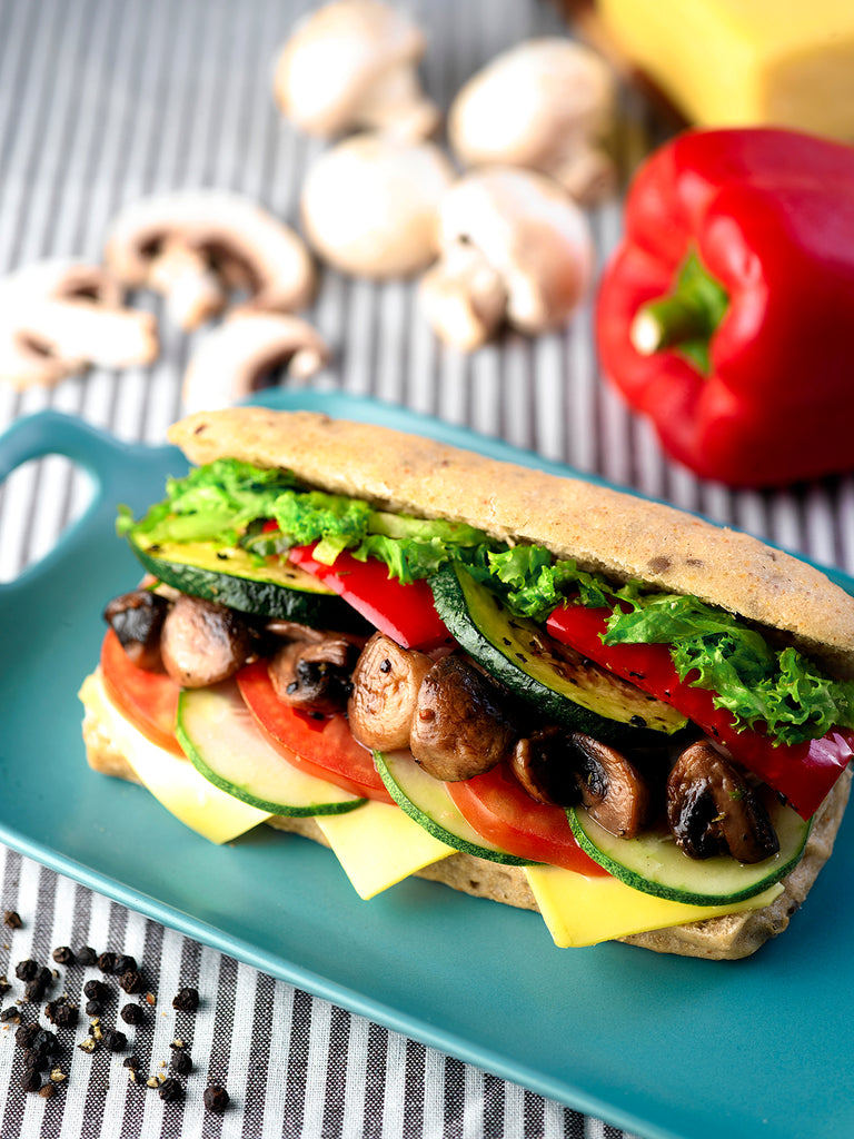 Vegetarian Chargrilled Sandwich