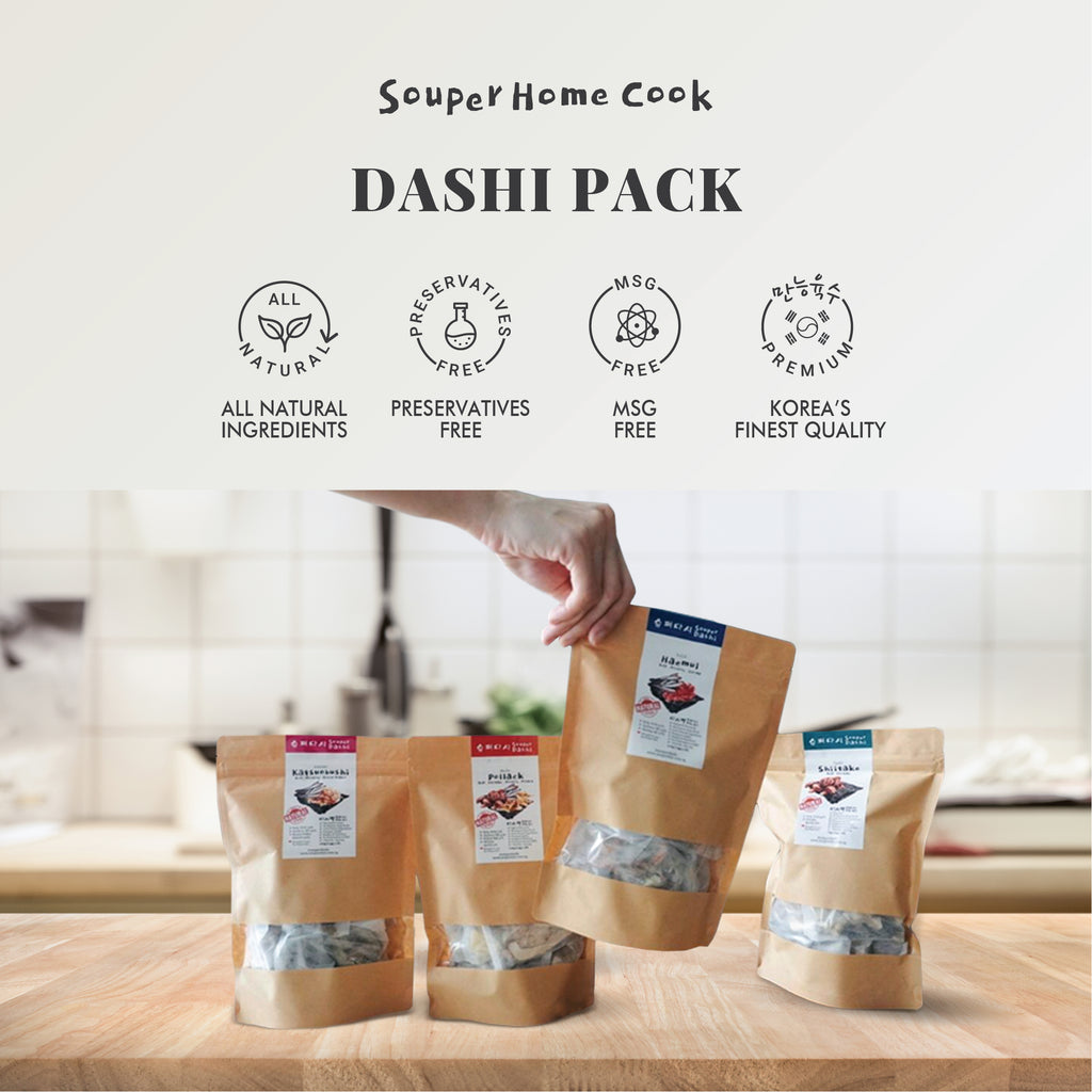 Souper Dashi Variety Box (4 Packs)