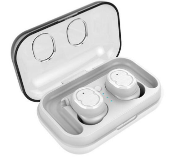 TWS True Wireless Bluetooth Earbud Touch Control Stereo IPX5 Waterproof Headphone
