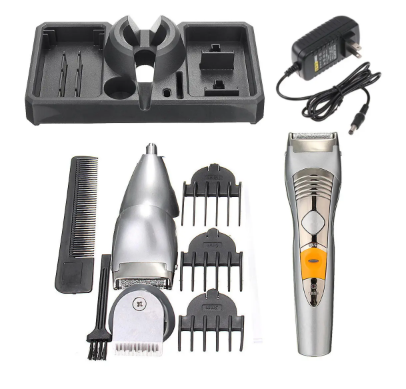 Ultimate Beard Trimmer Electric Rechargeable Hair Clipper Shaving Kit