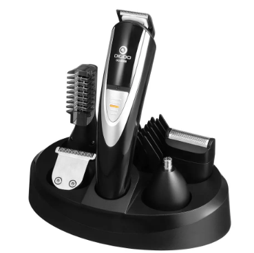 12 in 1 Men's Waterproof Beard/Hair Cordless Clipper Kit. Grooming Trimmer for Beard Nose Ears Face and Body, USB Rechargeable