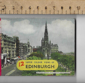 12 Super Colour, Views of Edinburgh, Dennis Productions.