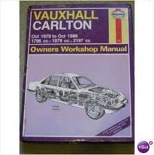 Vauxhall Carlton 1978-86 Owner's Workshop Manual (Owners workshop manuals / Haynes) Mead, John S.
