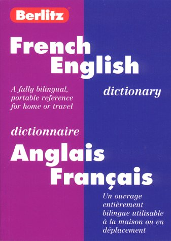 Berlitz French-English Bilingual Dictionary Berlitz Guides