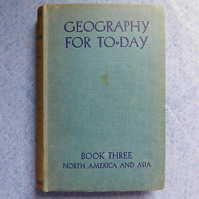 North America and Asia, etc (Geography for To-Day. bk. 3.) [Unknown Binding] Harold George Thurston and Thomas Herdman