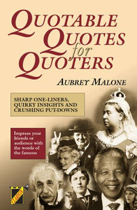 Quotable Quotes for Quoters (Clarion) Malone, Aubrey