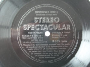 "VARIOUS ARTISTS Stereo Spectacular 7"" flexi Readers Digest [Vinyl] Various Artists"