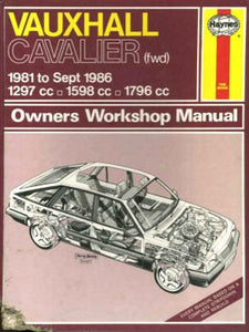 Vauxhall Cavalier (FWD) 1981-88 Owner's Workshop Manual Strasman, Peter G.
