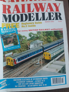 Railway modeller magazine March 2003