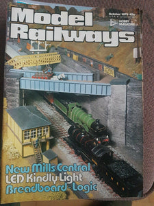 Model Railways Magazine - October 1979 VERY GOOD CONDITION.