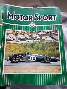 Motorsport October 1967 please see second image for contents