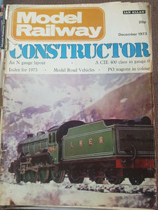 Model Railway Constructor Magazine Ian Allan. DECEMBER 1973