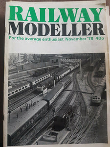 RAILWAY MODELLER Magazine November 1978