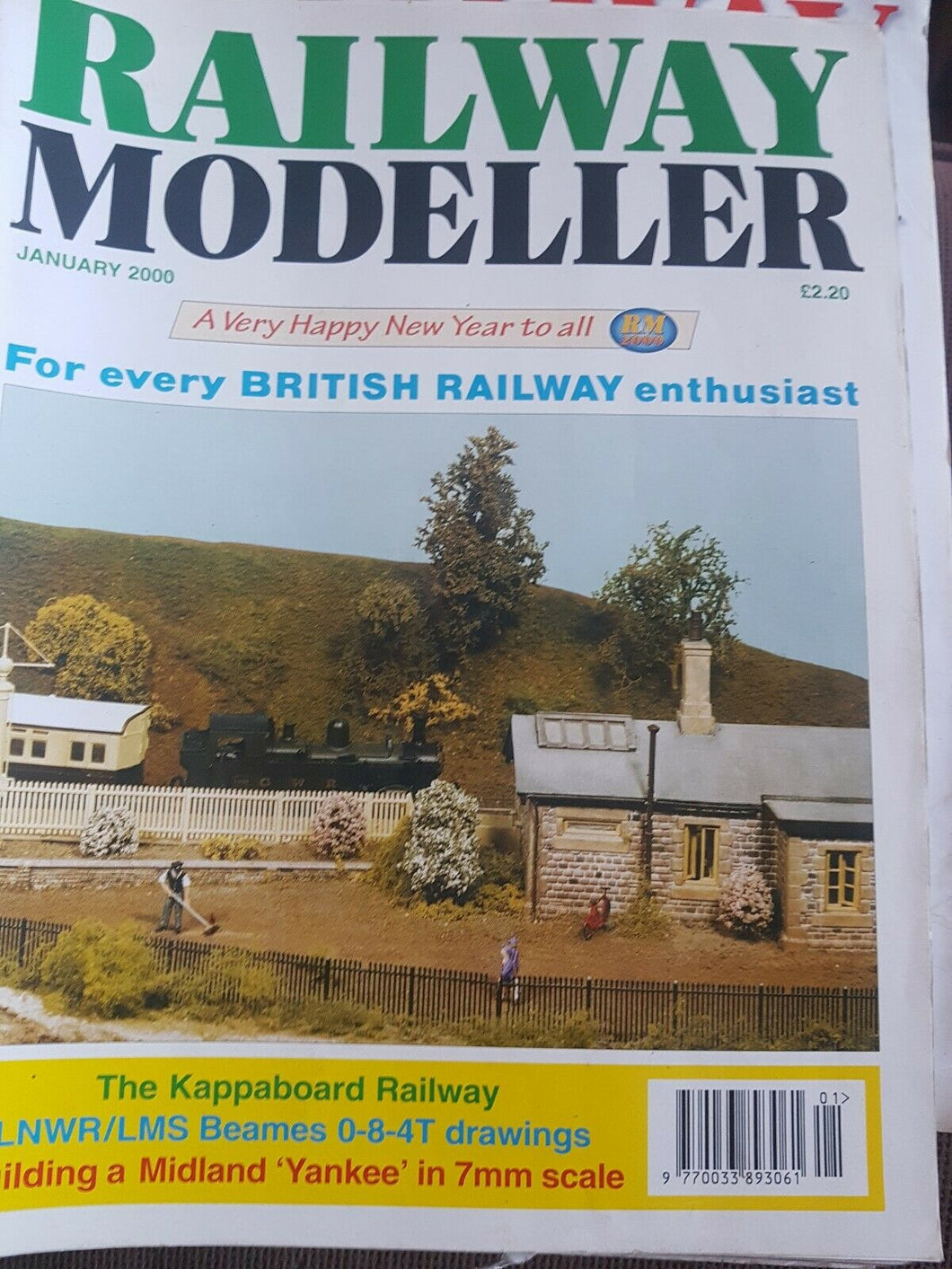 Railway modeller magazine January 2000