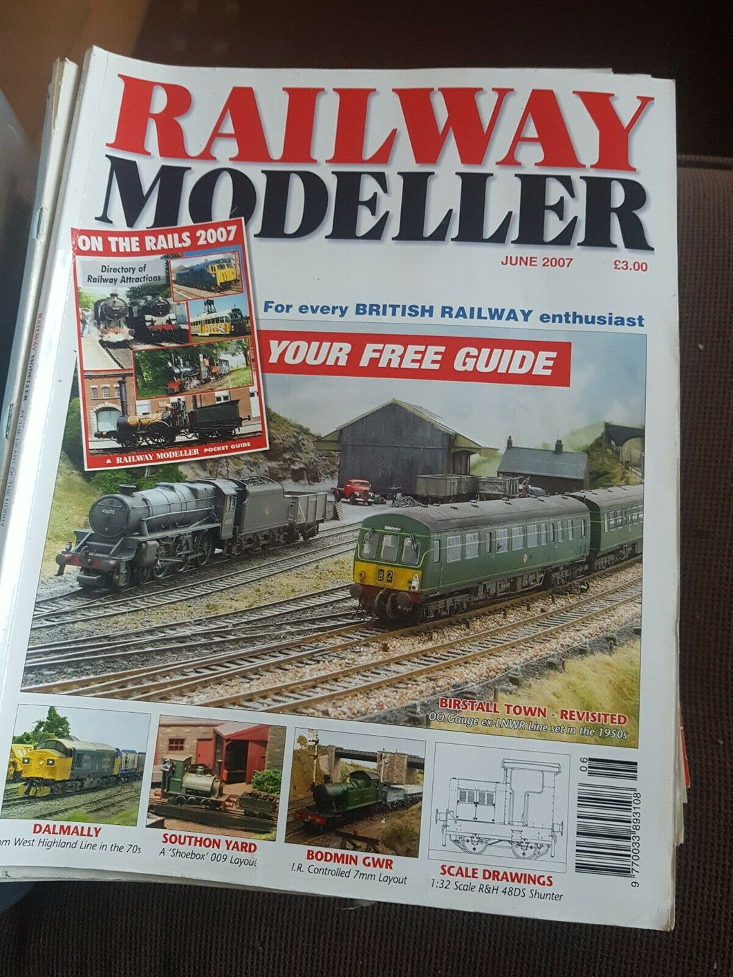 Railway modeller magazine June 2007
