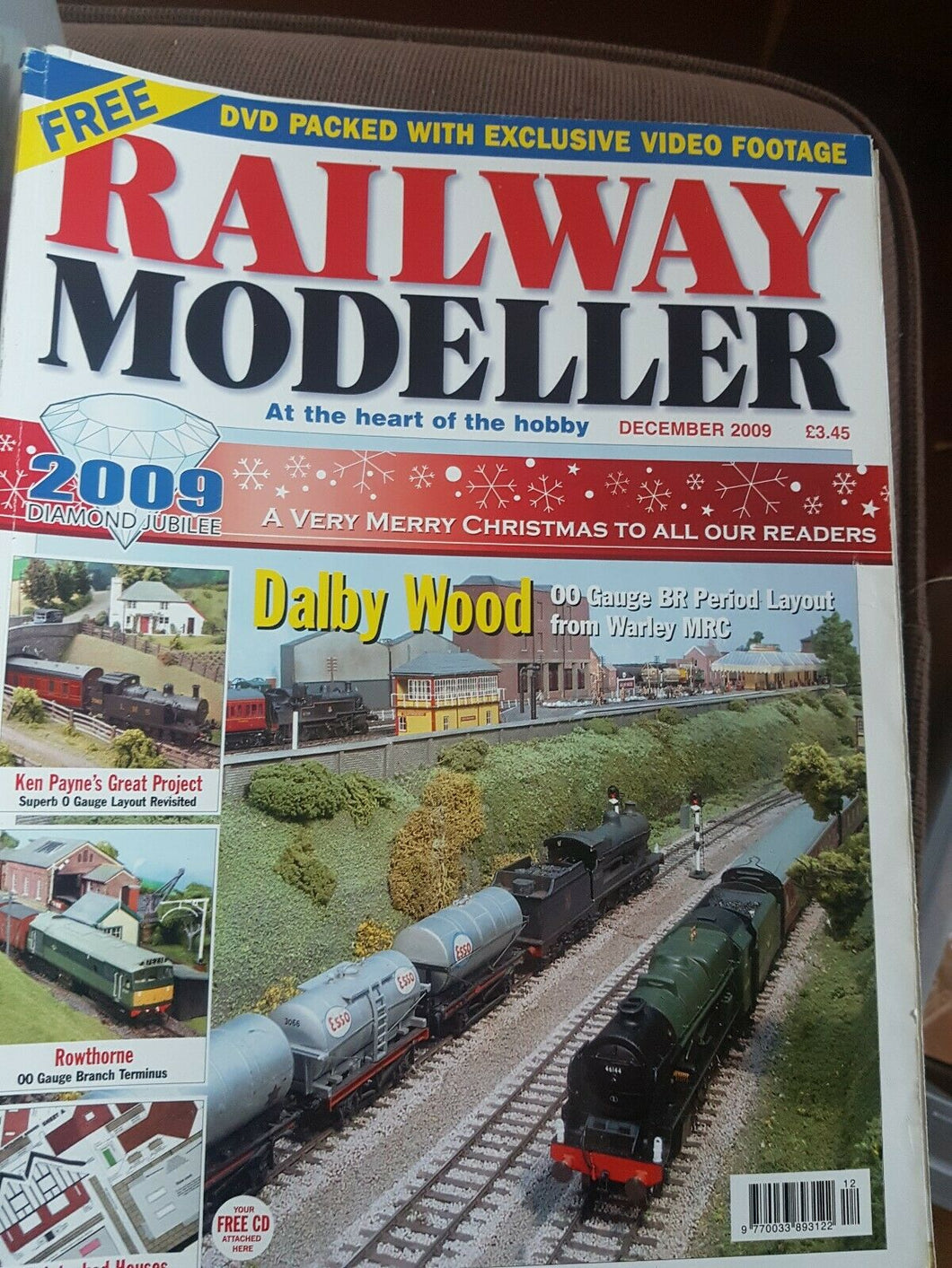 Railway modeller magazine December 2009