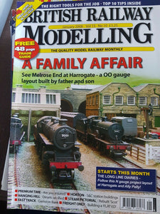 BRITISH RAILWAY MODELLING Magazine January 2008