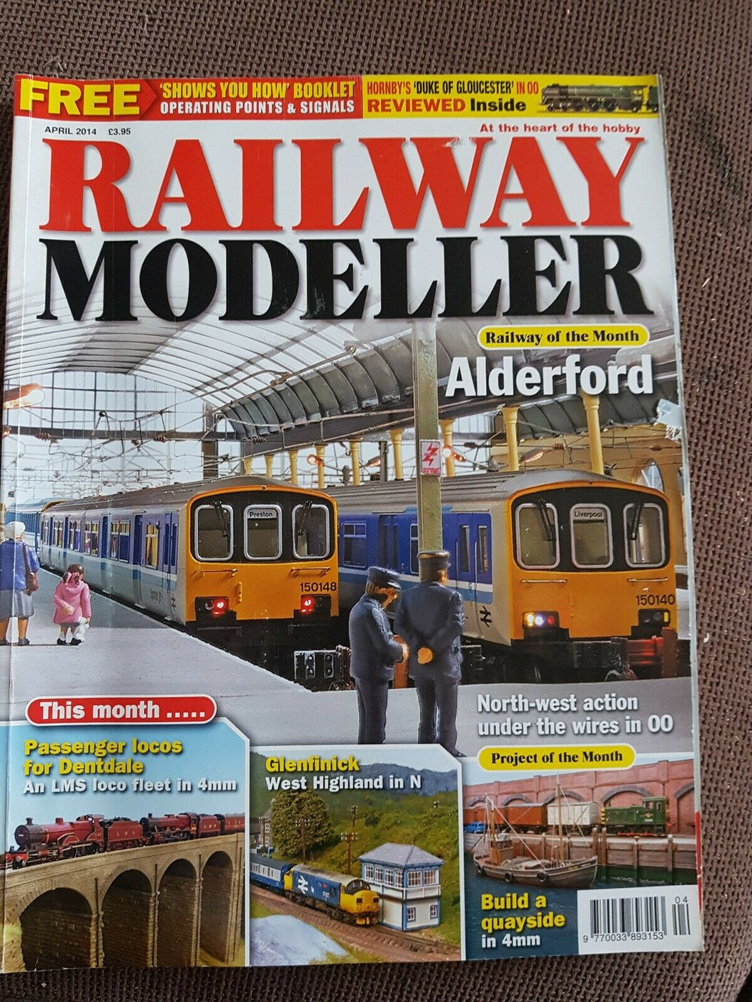 RAILWAY Modeller Magazine April 2014