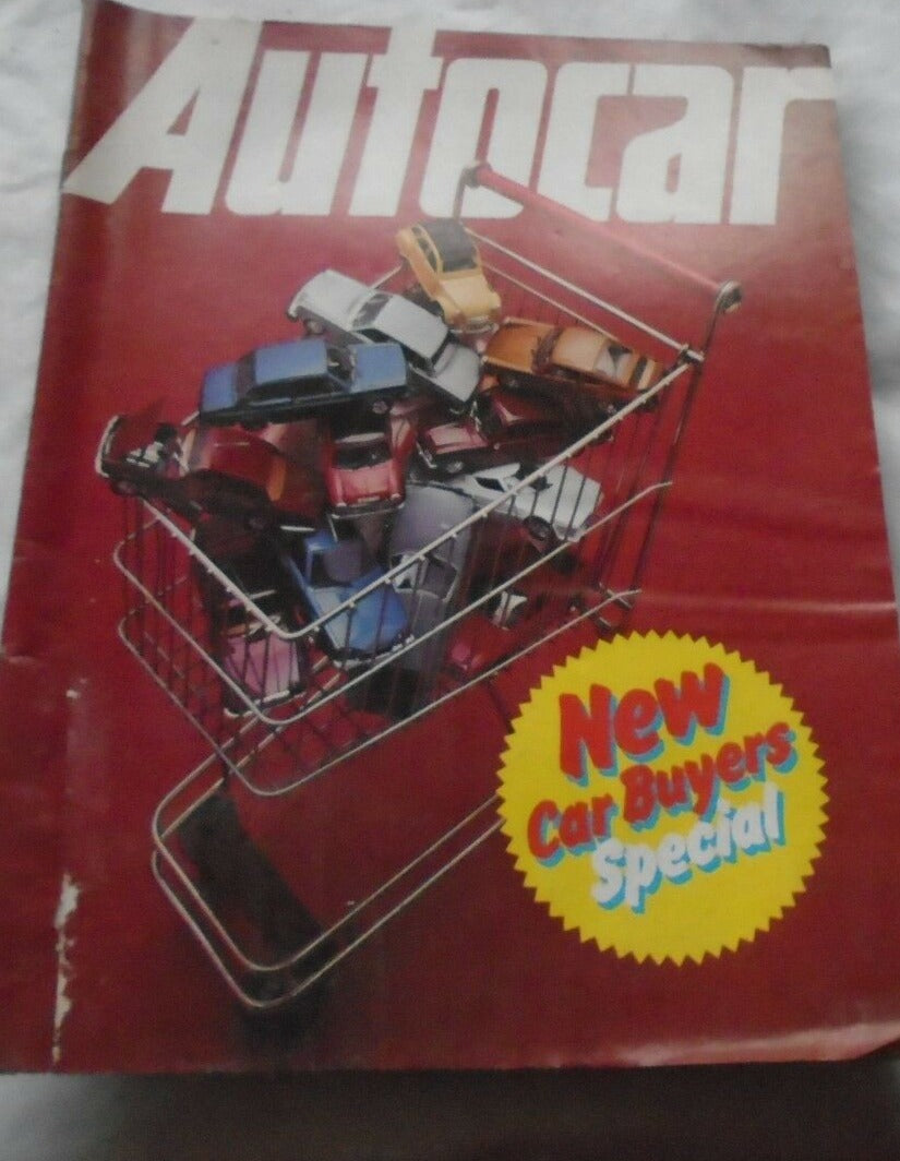 AUTOCAR 9 JULY 1977 - NEW CAR BUYERS SPECIAL