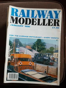 Railway modeller magazine January 1990